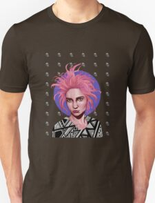 Pink-haired Girl Unisex T-Shirt