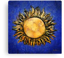 Flowering Sun Canvas Print