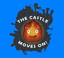 The Castle moves on! (Pillows & Totes Edition) by agustindesigner