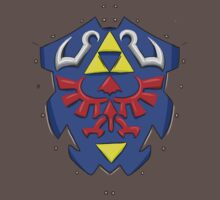 hylian shield by HeartlessArts