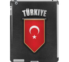 Turkey Pennant with high quality leather look iPad Case/Skin