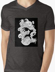 Koi Tattoo Mens V-Neck T-Shirt