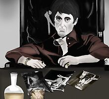 Tony Montana by Nornberg77
