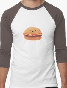 Burger Buddy Men's Baseball ¾ T-Shirt
