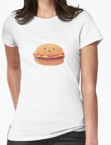 Burger Buddy Womens Fitted T-Shirt
