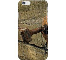 Rusty Bolt iPhone Case/Skin