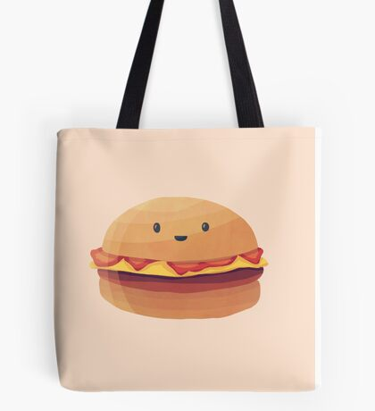 Burger Buddy Tote Bag