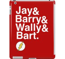 """Jay and Barry and Wally and Bart"" Flash T-shirt and more iPad Case/Skin"