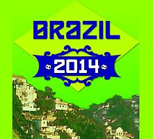 FIFA World Cup Brazil 2014 by Finn Smith