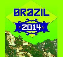 FIFA World Cup Brazil 2014 by Finn Smith