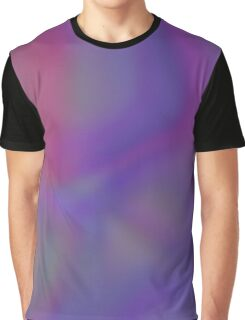 Pink and Purple abstract clouds Graphic T-Shirt