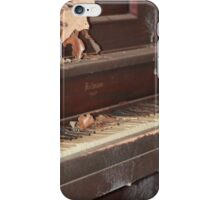 Piano left behind iPhone Case/Skin