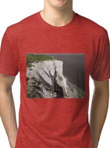 The White Cliffs Of Dover Tri-blend T-Shirt