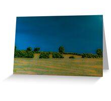 Felt-tip Landscape Greeting Card