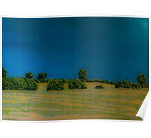 Felt-tip Landscape Poster