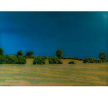 Felt-tip Landscape Photographic Print