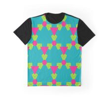 Triangles honeycombs and other shapes pattern Graphic T-Shirt