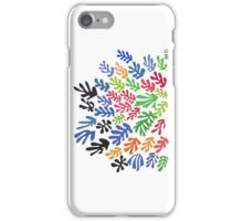 La Gerbe by Matisse iPhone Case/Skin