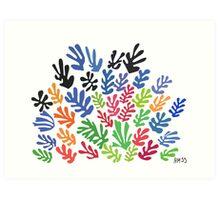 La Gerbe by Matisse Art Print