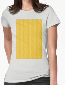 Egyptian abstract pattern Womens Fitted T-Shirt