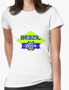 FIFA World Cup Brazil 2014 Womens Fitted T-Shirt