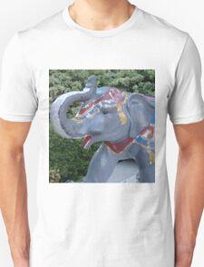 Elephant Statue Standing Guard T-Shirt