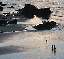 Newquay Beach by DMHotchin