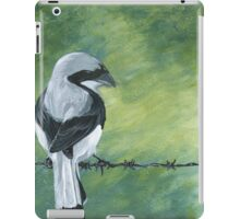 Shrike on a Wire iPad Case/Skin
