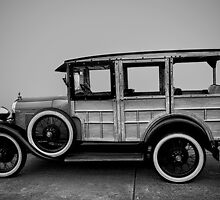 Ford Model A Station Wagon 1930 by damhotpepper