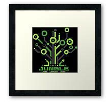 Jungle Online Community Framed Print