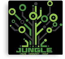 Jungle Online Community Canvas Print