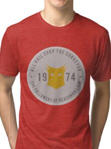 All Hail Zorp, Parks and Recreation Tri-blend T-Shirt
