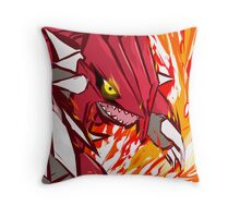 Groudon   Eruption  Throw Pillow