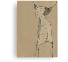 Melting beauty Canvas Print