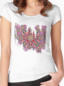 Oriental Garden Women's Fitted Scoop T-Shirt