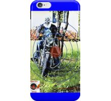Real Beast Of A Biker iPhone Case/Skin