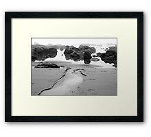 Foggy Shore No. 2 Framed Print