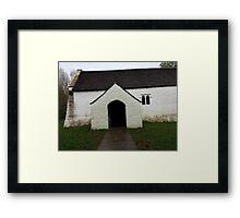 Welsh church Framed Print