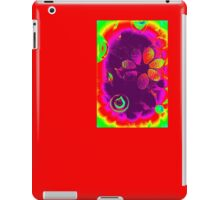 70s Psychedelic Garden - Mosaic iPad Case/Skin
