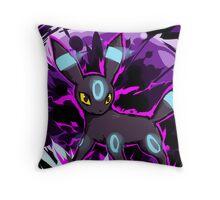 Shiny Umbreon   Dark Pulse Throw Pillow