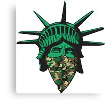 Statue of Liberty Bandana Canvas Print