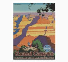 Vintage poster - Grand Canyon Baby Tee