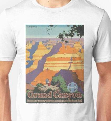 Vintage poster - Grand Canyon Unisex T-Shirt