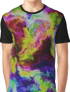 Painted Flowers Graphic T-Shirt