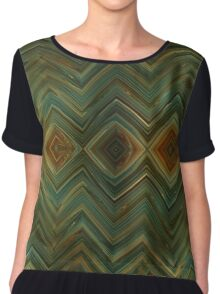 Rusty Diamond Chiffon Top