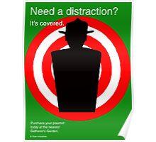 Bioshock Decoy Plasmid Ad Poster