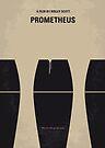 No157 My Prometheus minimal movie poster by Chungkong