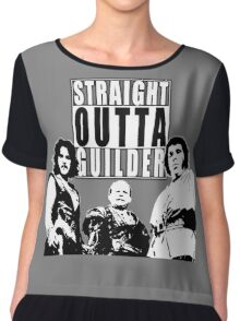 Straight Outta Guilder v2 Chiffon Top