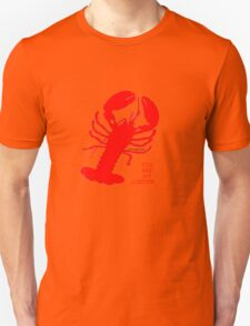 You Are My Lobster (Left) Couples Design Unisex T-Shirt