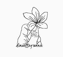 Dismantling Summer Flower Logo - White Unisex T-Shirt